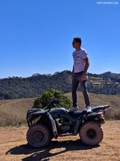 Passeio de quadriciclo em Campos do Jordao 7