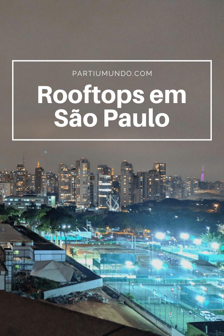 Rooftops em Sao Paulo