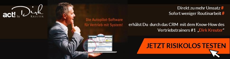 Die Autopilot Software für Ihren Vertrieb mit System, Vertrieb mit System