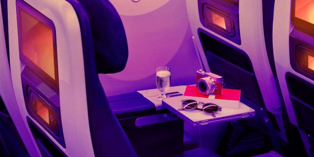 Sky high with Virgin Atlantic