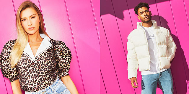Zara McDermott and Wesley Nelso front fashion giant, ASOS AW 2020 campaign