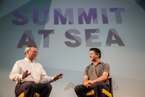 Google's Eric Schmidt interviewed Uber's Travis Kalanick on a cruise – here are 5 highlights