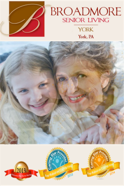 Broadmore Senior Living at York homepage