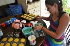 Mari Making Cupcakes