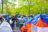 The Tents of Occupy Wall St.