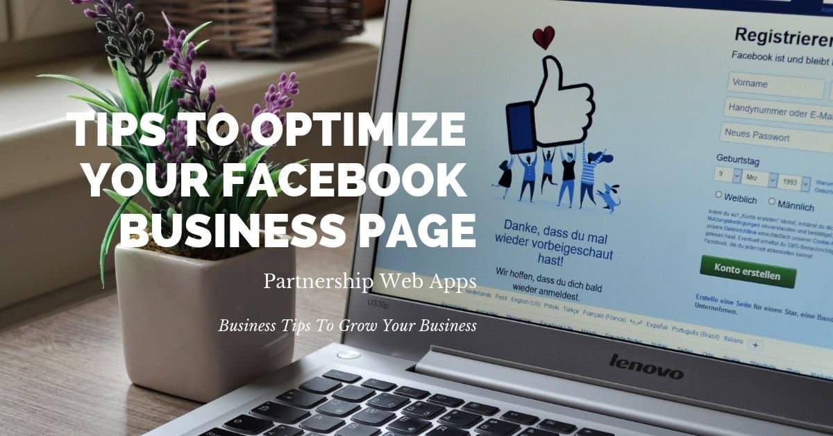 Tips To Optimize Your Facebook Listing To Number One