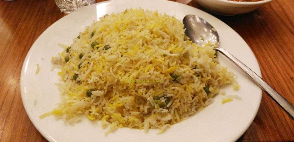 An evening with Afghani pulao