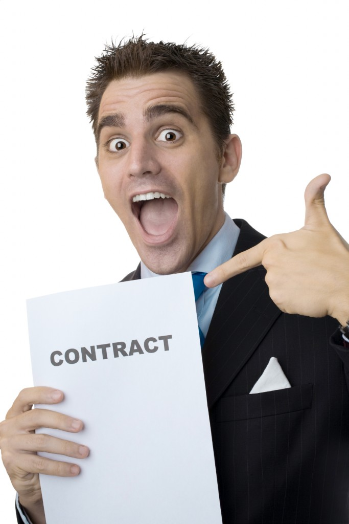 Customer With Contract