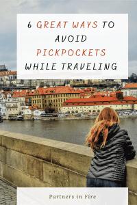 ways to avoid pickpockets