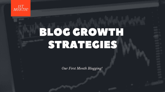 """first month blogging"""