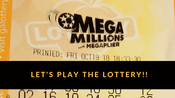 """""""Play the lottery"""""""