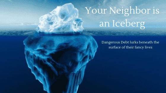 """your neighbor is an iceberg"""