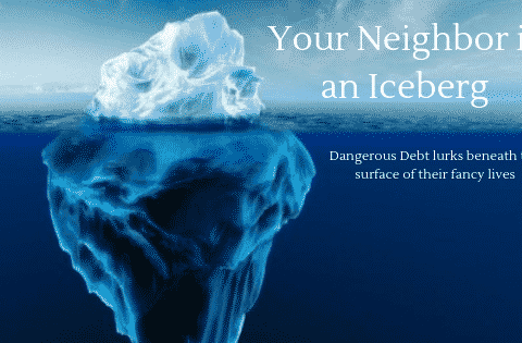 """your neighbor is an iceberg"""