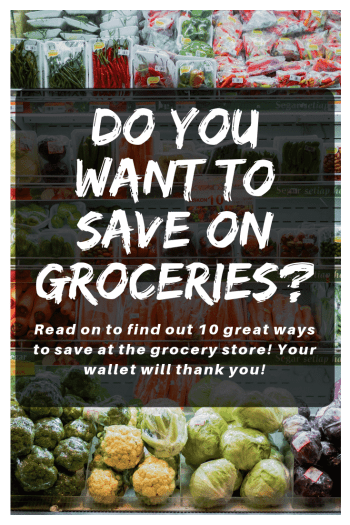 to save money on groceries