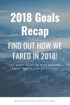 """""""2018 goals recap"""""""