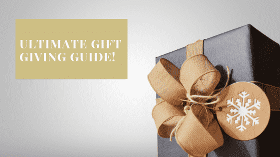 """""""gift giving guide"""""""