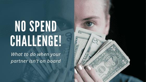 """""""no spend challenge"""""""