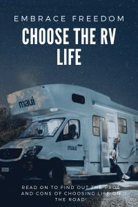 """""""choosing rv life"""""""