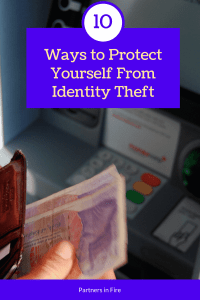 """10 ways to prevent identity theft"""