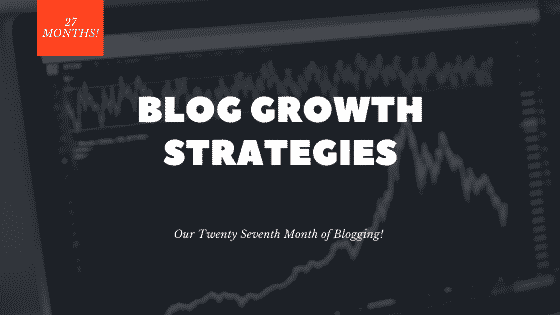 27th month blogging
