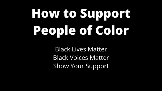 """support people of color"""