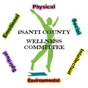 isanti county wellness logo