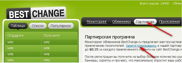 обмен денег