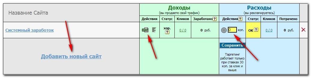 Реклама и заработокнаTAK.Ru