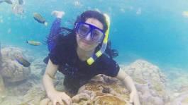 Snorkeling pagang-pamutusan-pasumpahan