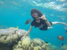 Underwater Pagang Island