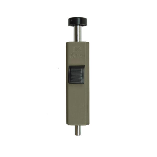 stone color auxiliary foot lock 1997220 andersen doors