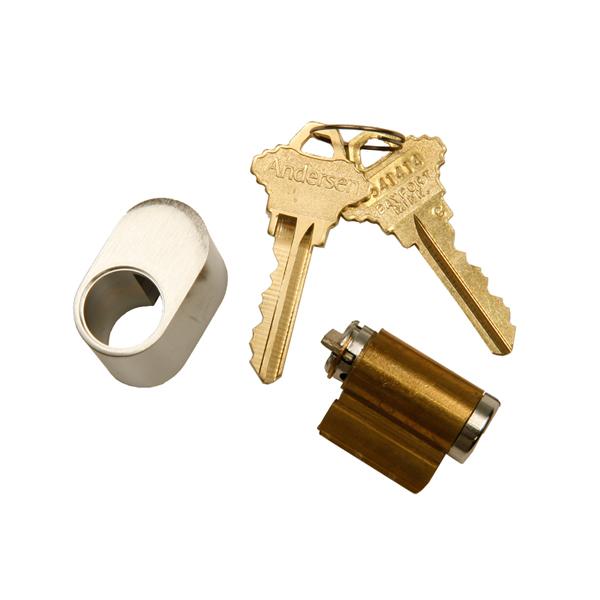 satin nickel keyed assembly 2579457 andersen doors