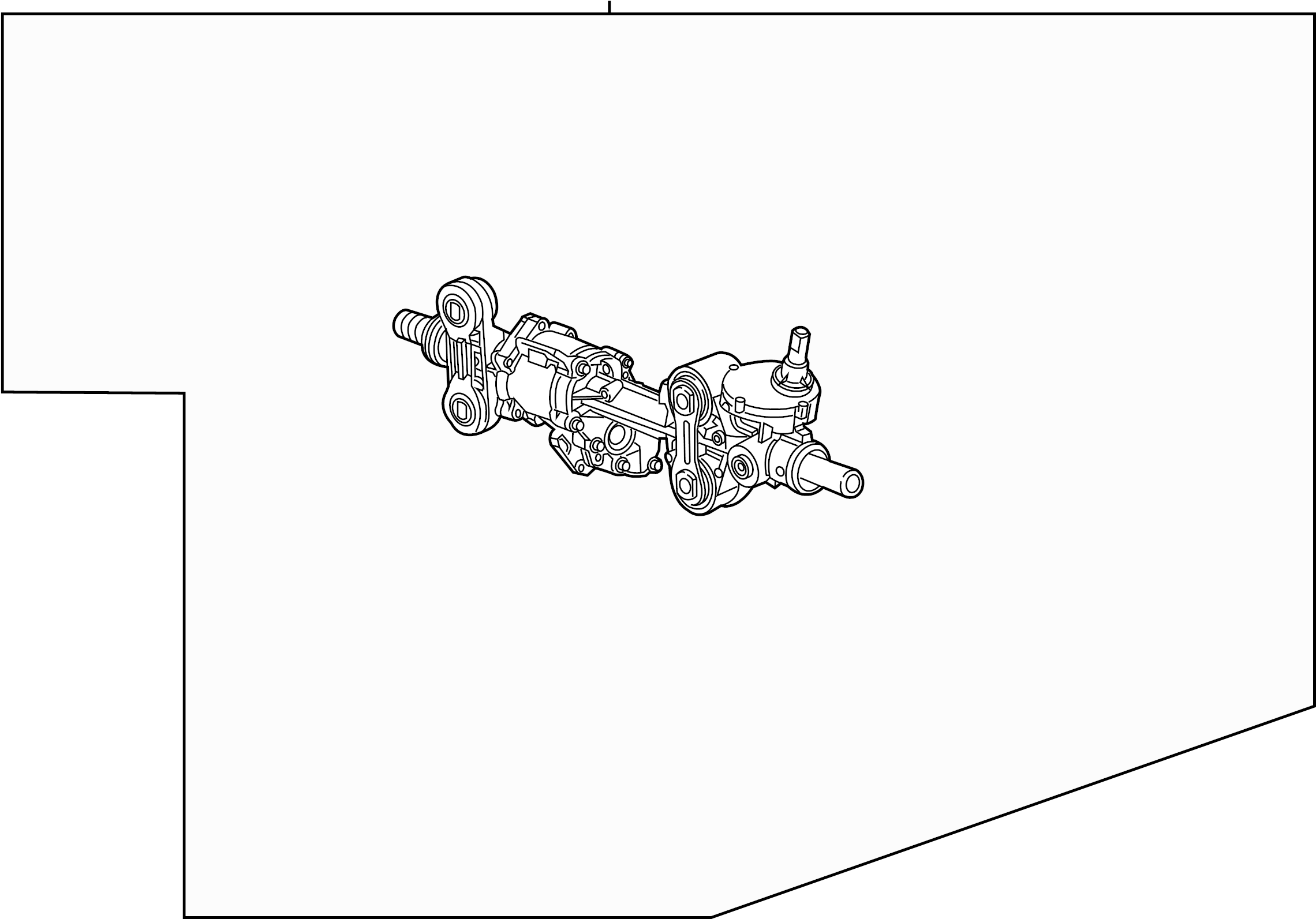 Gmc Sierra Rack And Pinion Assembly