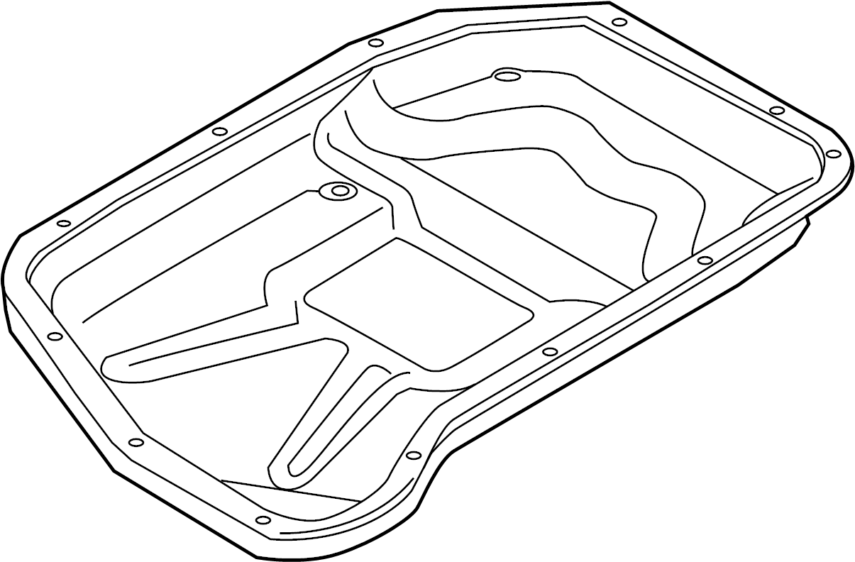 Audi A5 Automatic Transmission Oil Pan Oil Sump