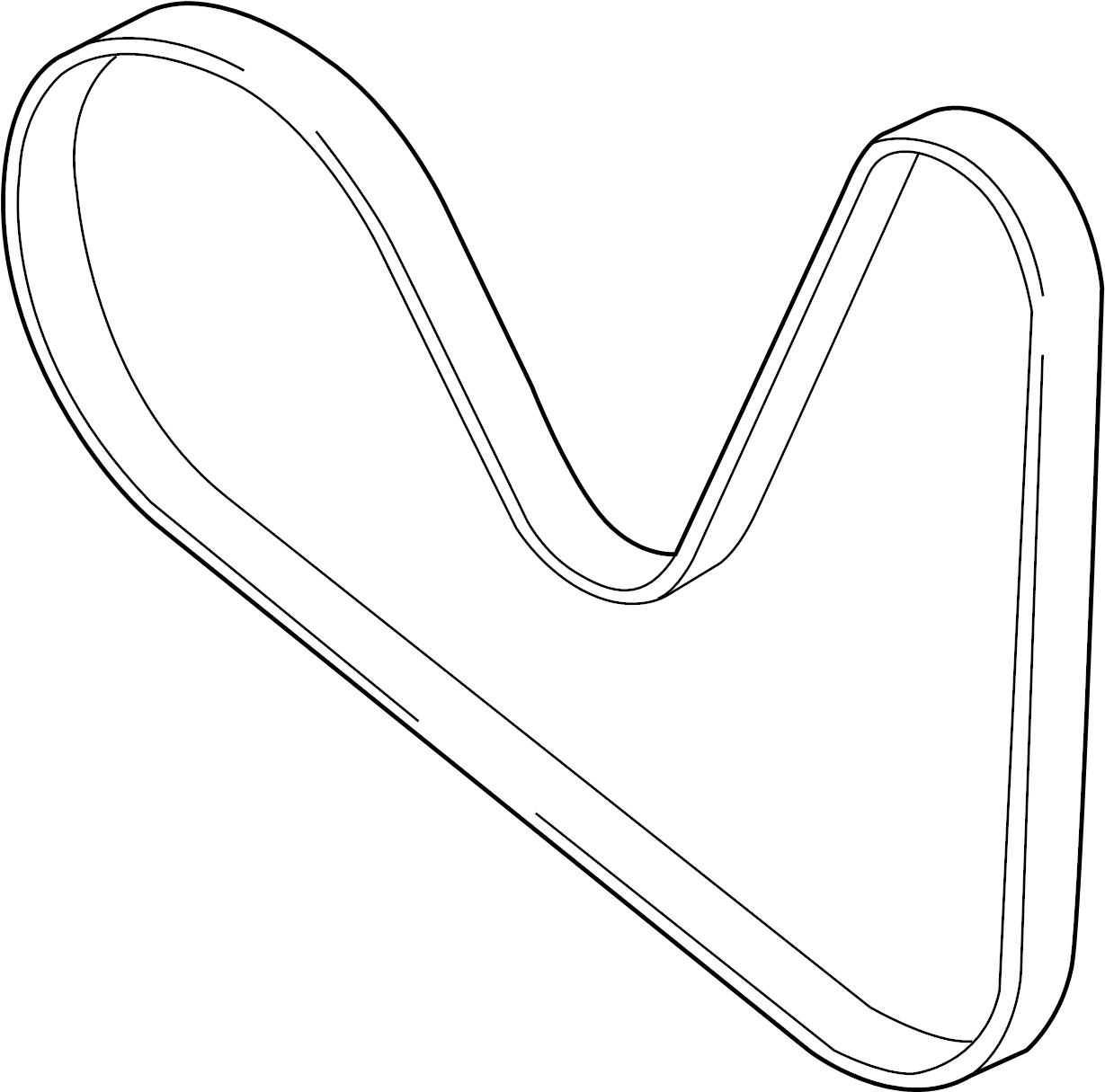 Audi A6 Ribbedbelt Serpentine Belt Liter Pulleys Belts
