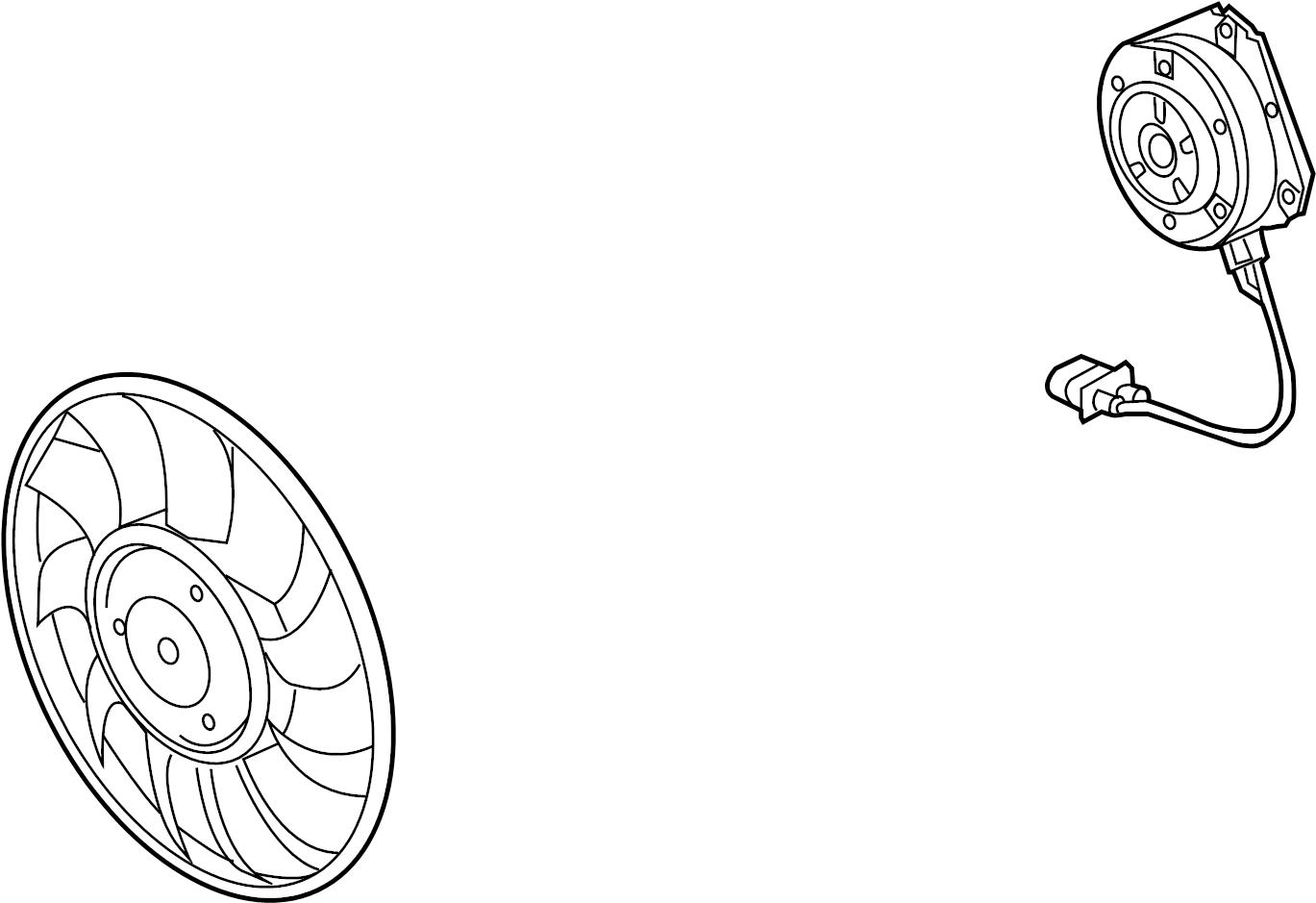 Audi S8 Fan Motor 4 0 Liter 4 2 Liter 6 3 Liter A8