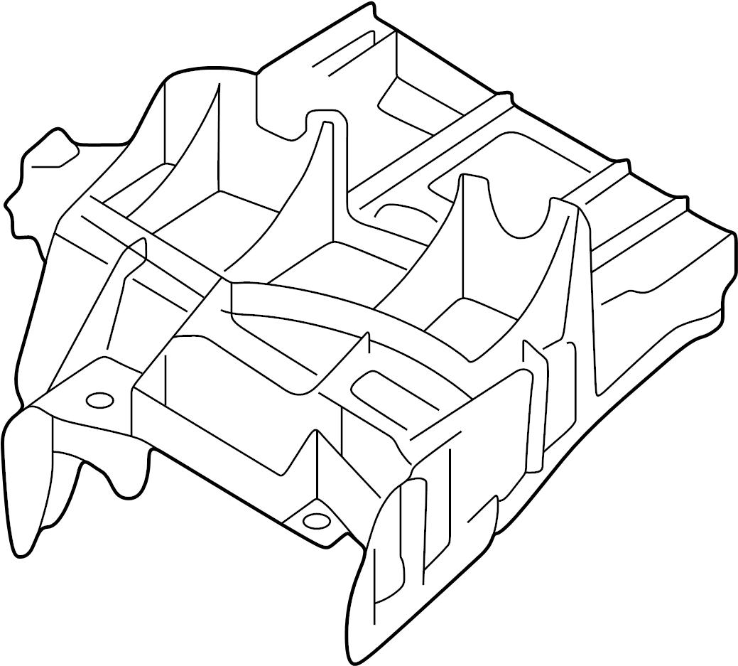 Audi Q5 Bracket Control Module Mount Modules Supply
