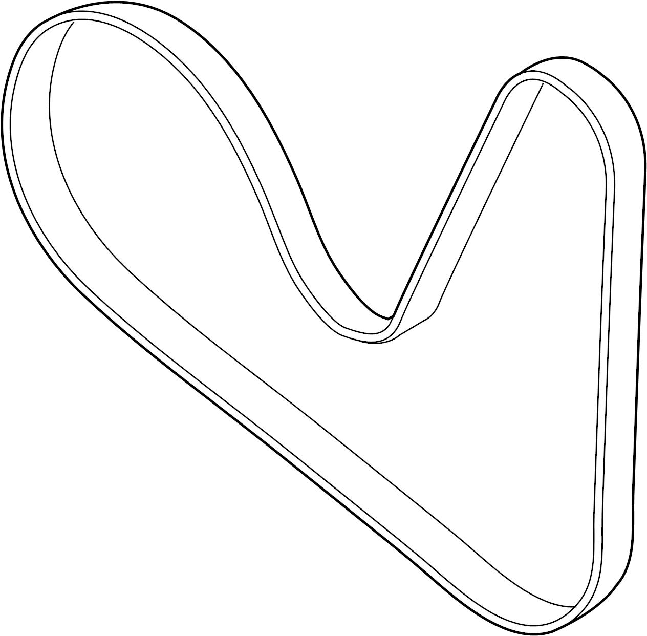 Audi Q7 Ribbedbelt Serpentine Belt Liter Pulleys