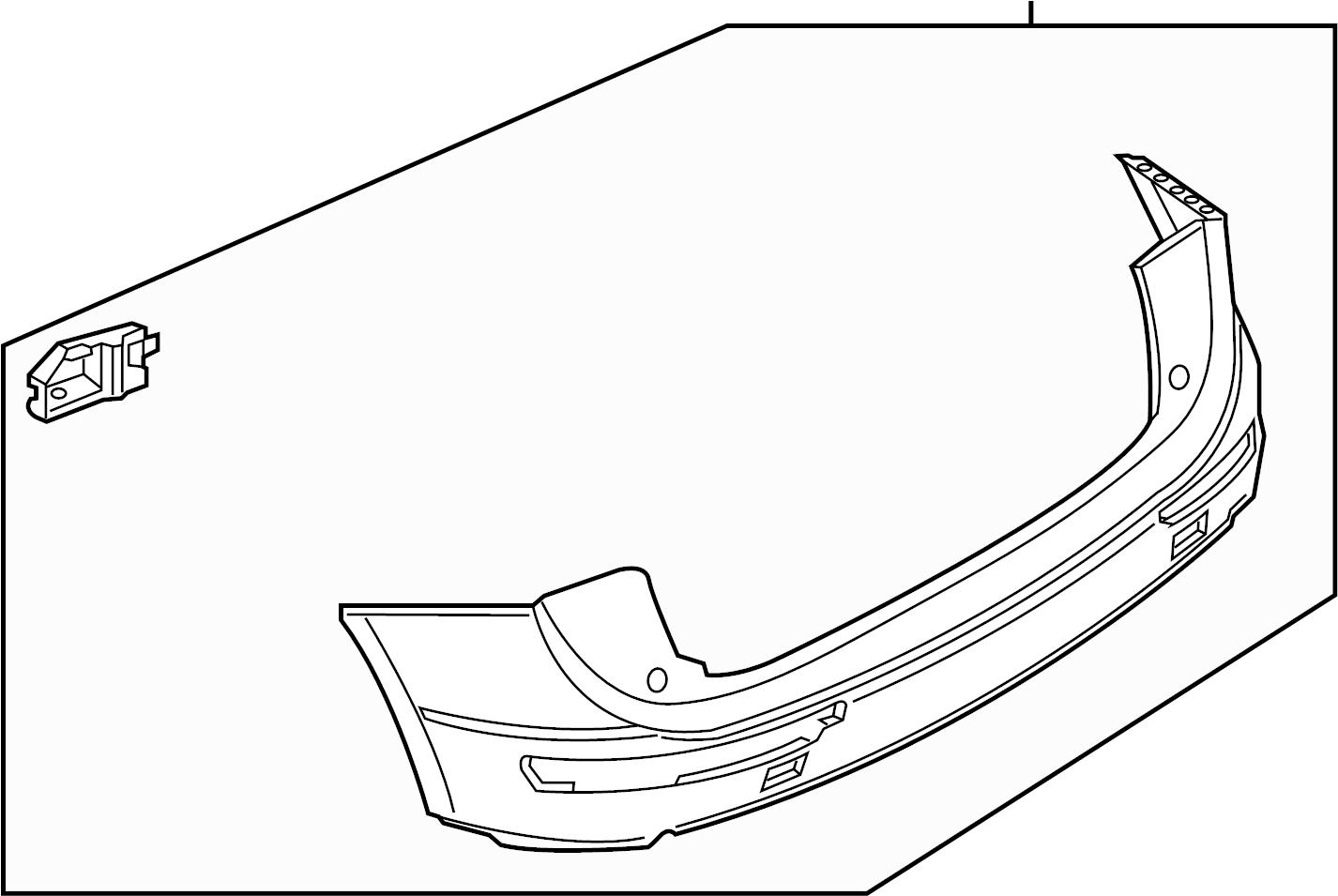 Audi Q5 Bumper Cover Cover Assembly W O S Line Pkg