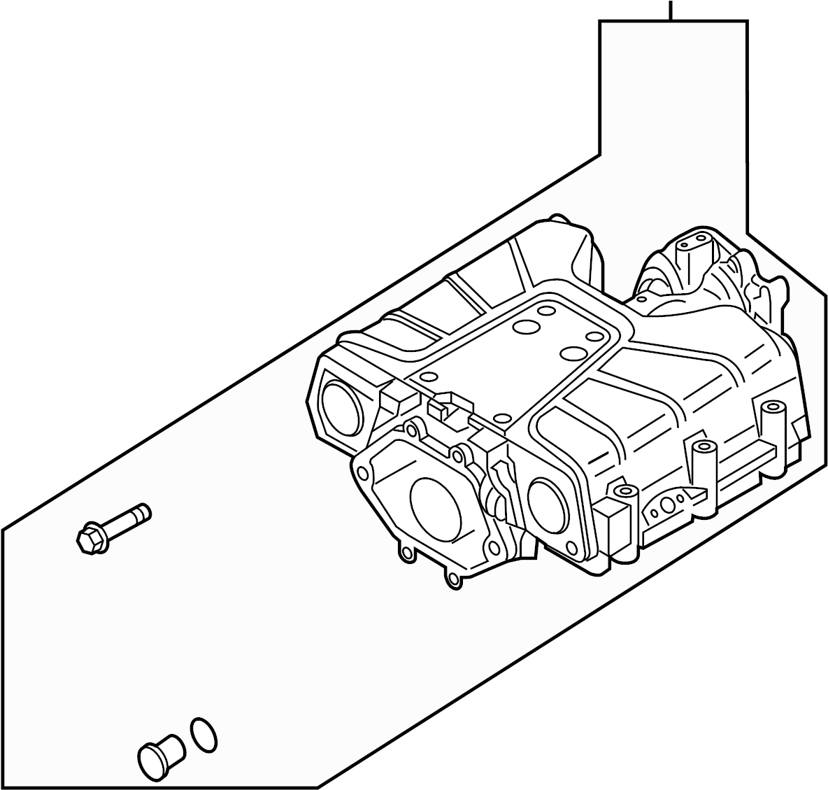 Audi Compressor Assembly Gas Supercharger Engine
