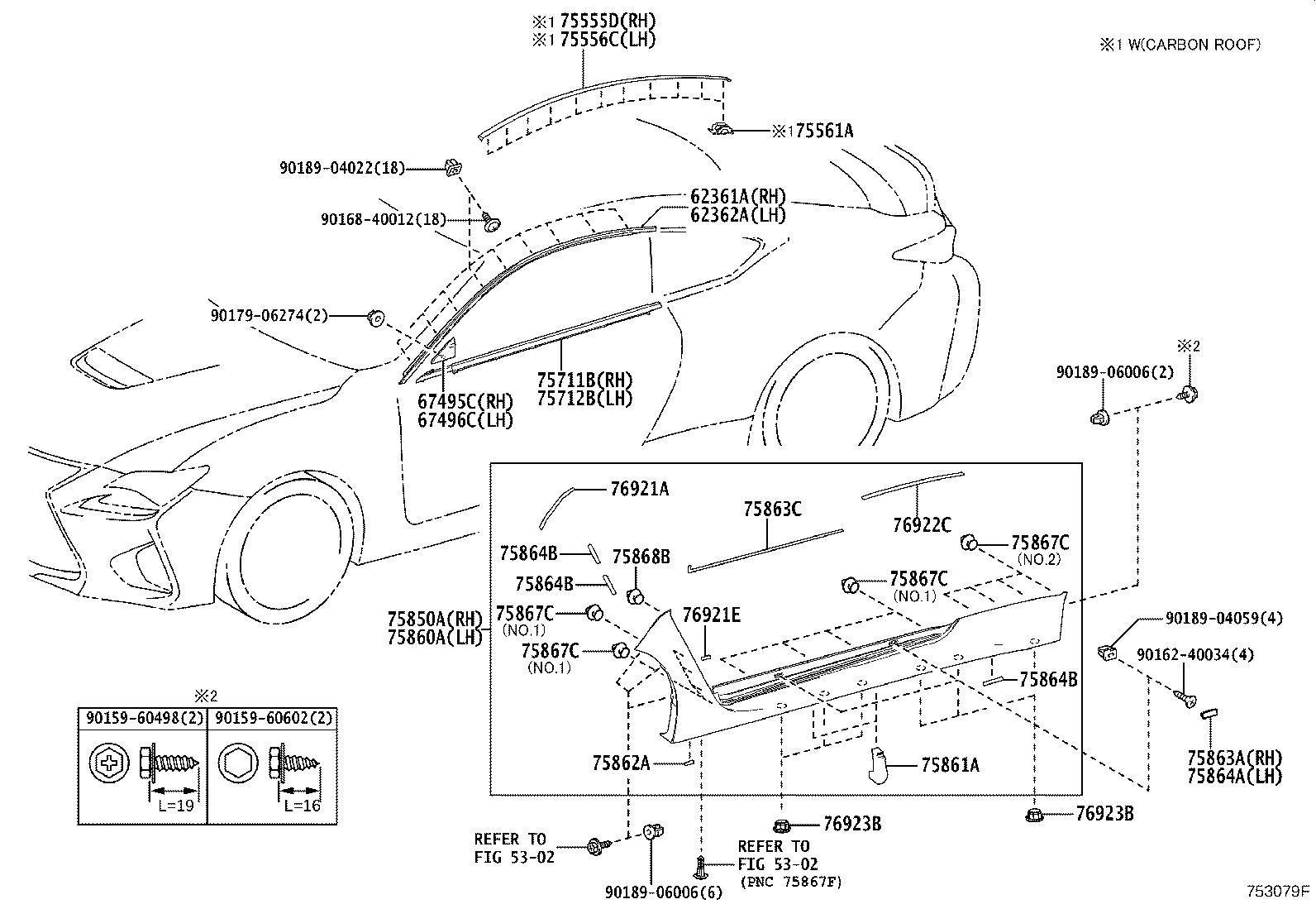 Lexus Rx 350 Ground Effects Kit Clip