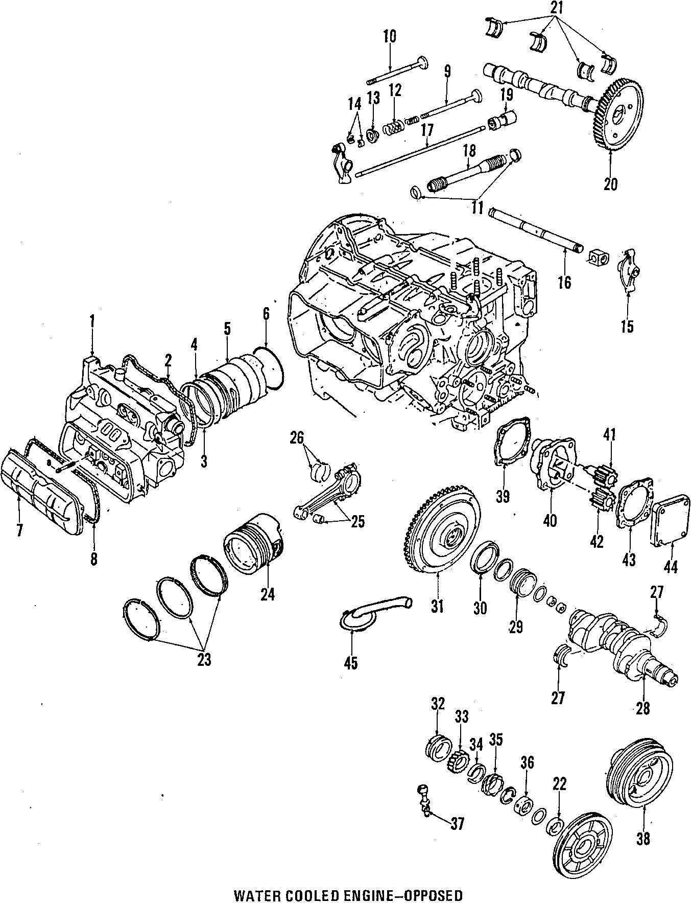 Volkswagen Vanagon Cotter Valve Keepers Wquantum