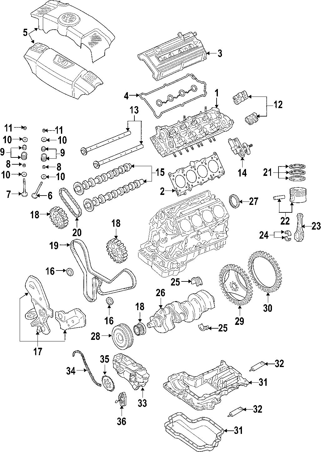Volkswagen Phaeton Engine Mount