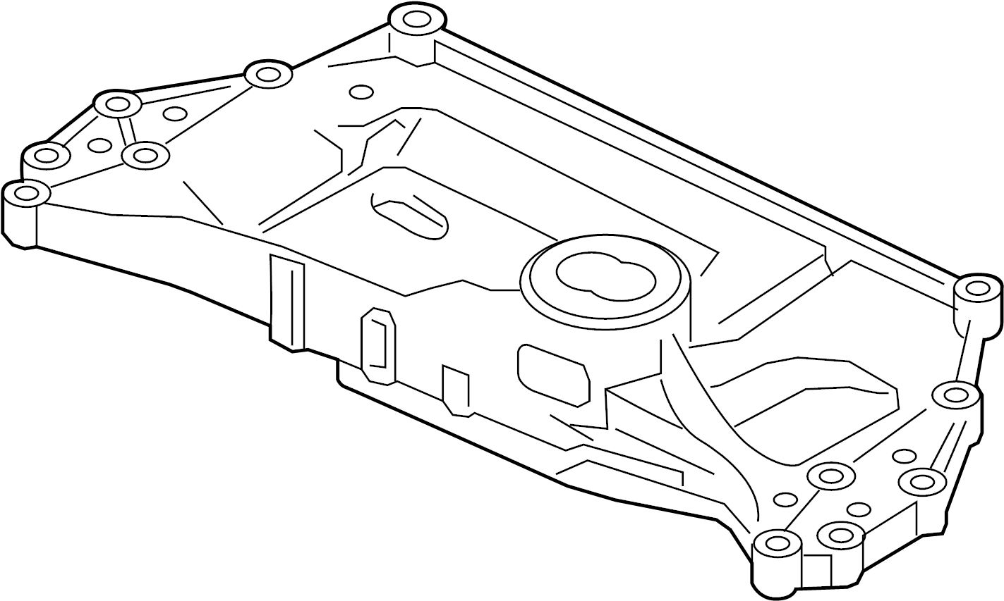 Volkswagen Eos Suspension Subframe Crossmember C