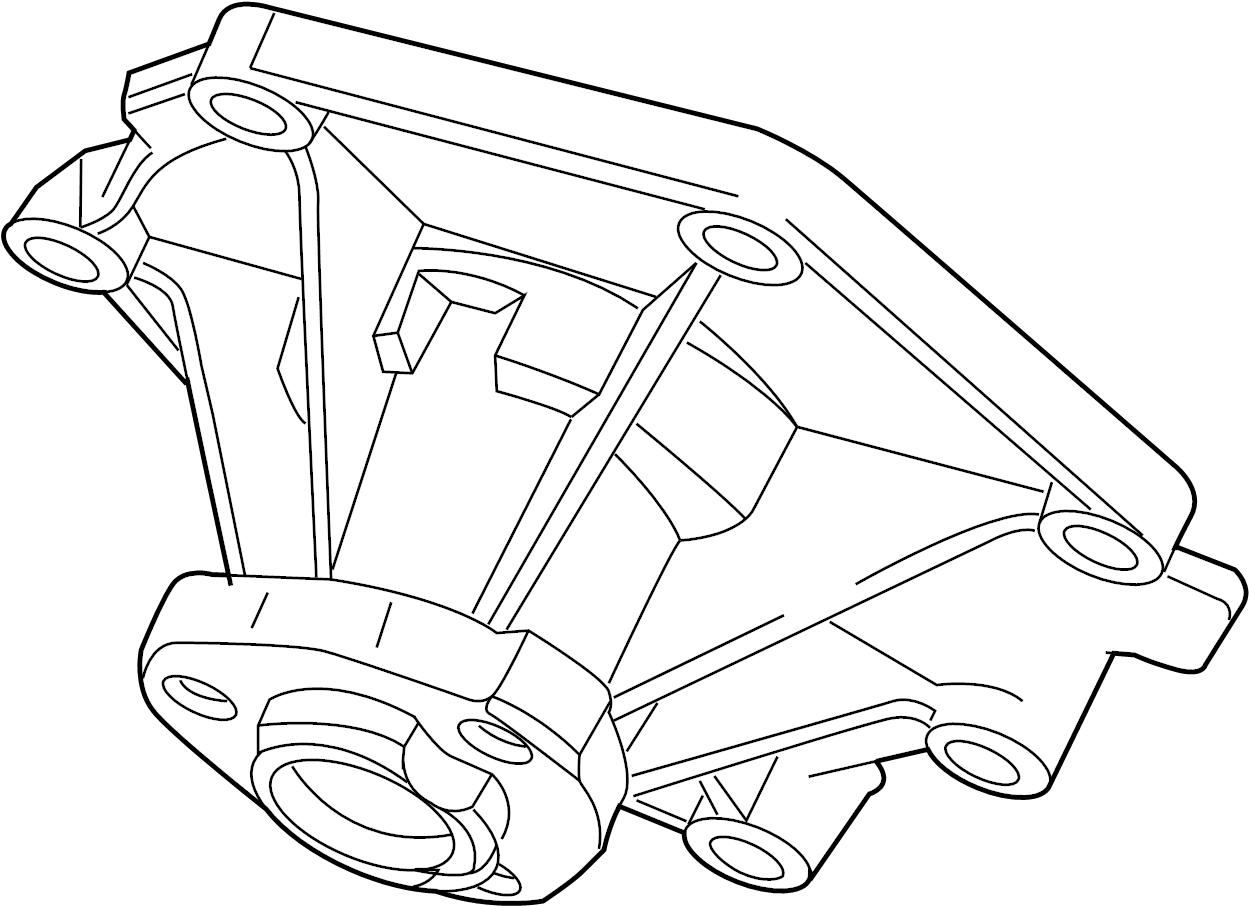 Volkswagen Touareg Engine Water Pump Audi