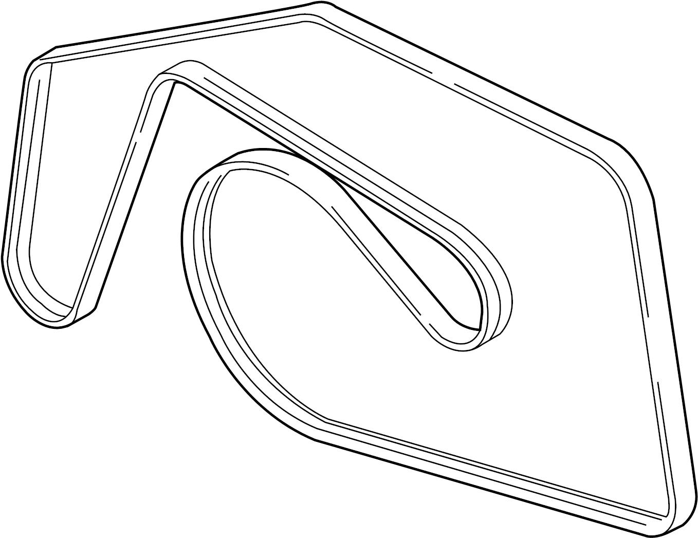 Volkswagen Touareg Ribbedbelt Serpentine Belt