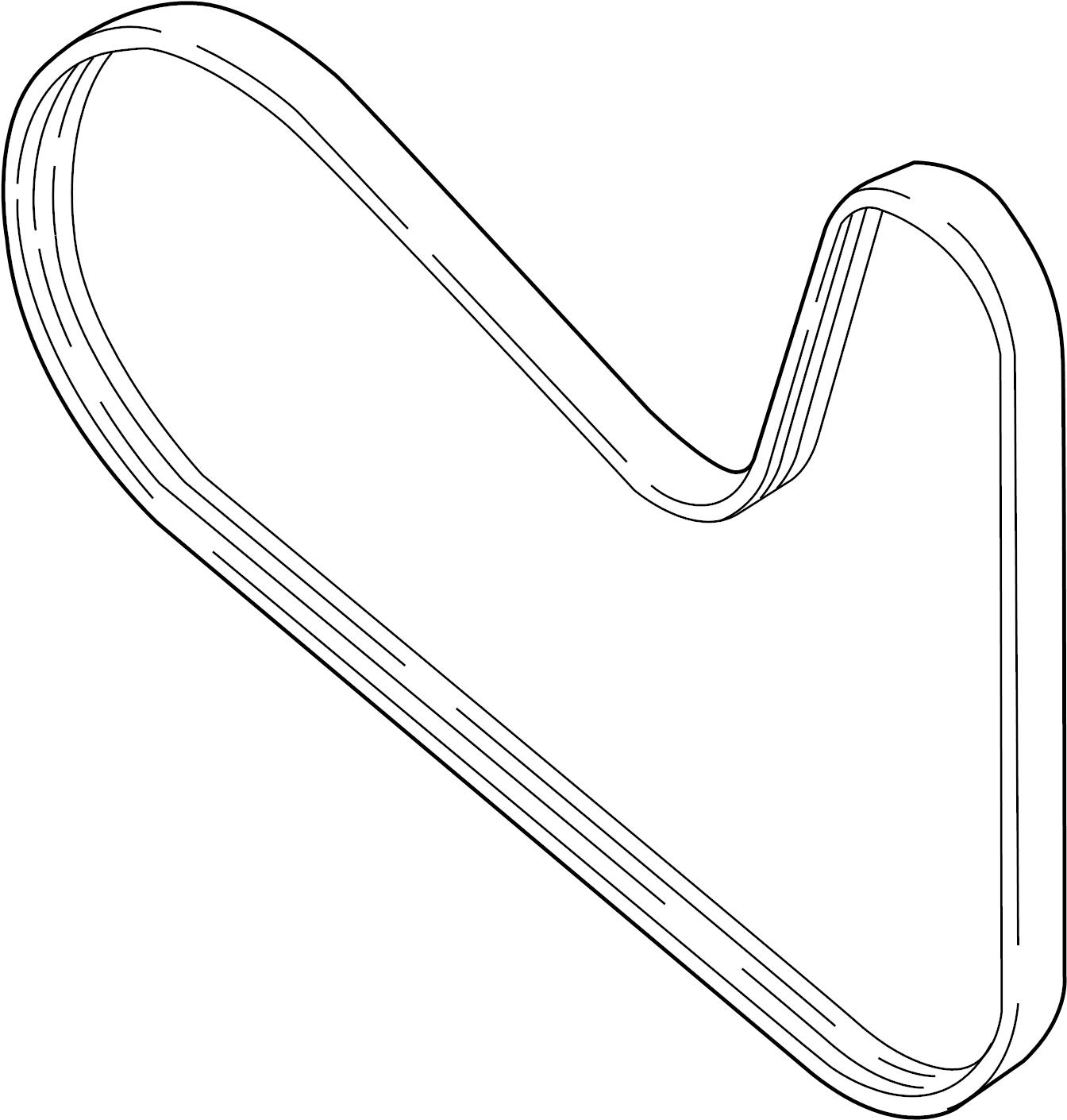 Volkswagen Jetta Ribbedbelt Serpentine Beltsel