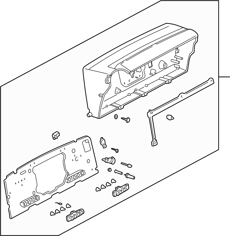 Volkswagen Eurovan Instrument Panel Circuit Board