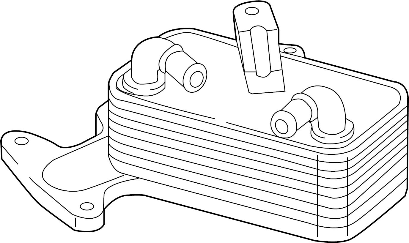 Volkswagen Golf Automatic Transmission Oil Cooler