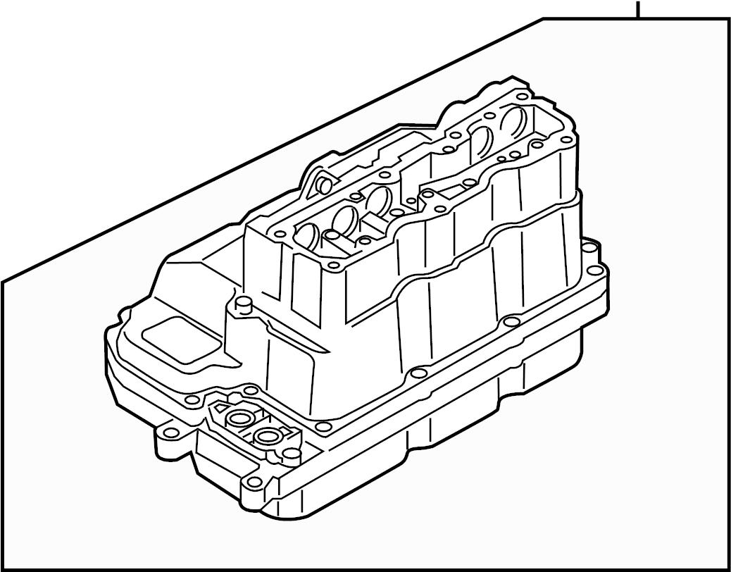 Volkswagen Jetta Hybrid Drive Motor Battery Pack